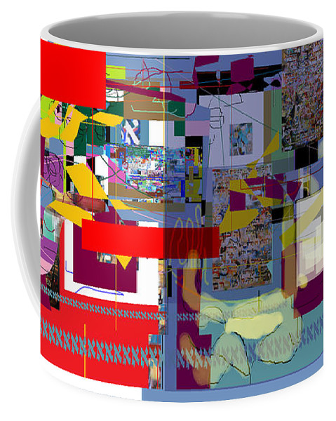 Coffee Mug featuring the digital art Wiping Out The Language Of Amalek 1a by David Baruch Wolk