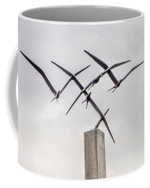 Statue Coffee Mug featuring the photograph Statue by Ronald Grogan