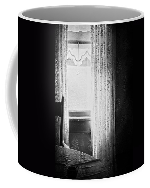 Window Coffee Mug featuring the photograph Stayed Waiting by The Artist Project
