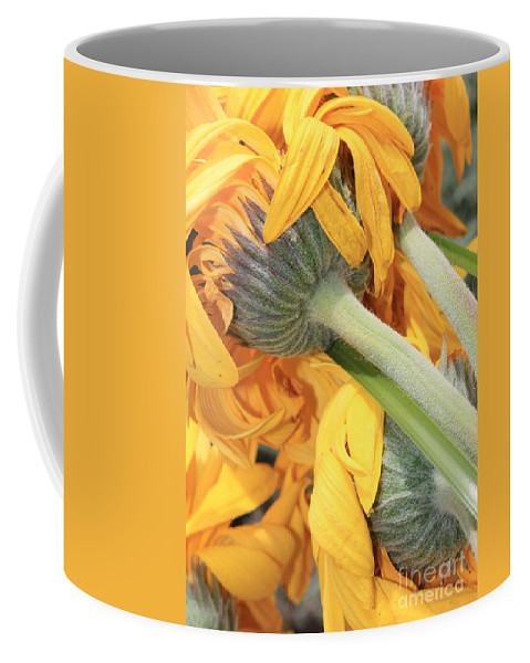 Yellow Coffee Mug featuring the photograph Staying Strong by Carol Groenen