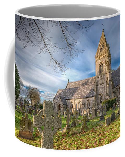 St.david Coffee Mug featuring the photograph St.david At Pantasaph by Adrian Evans