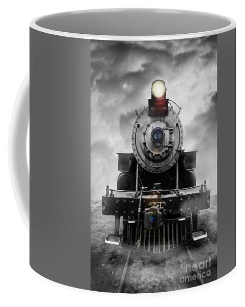 Essex. Train Coffee Mug featuring the photograph Steam Train Dream by Edward Fielding