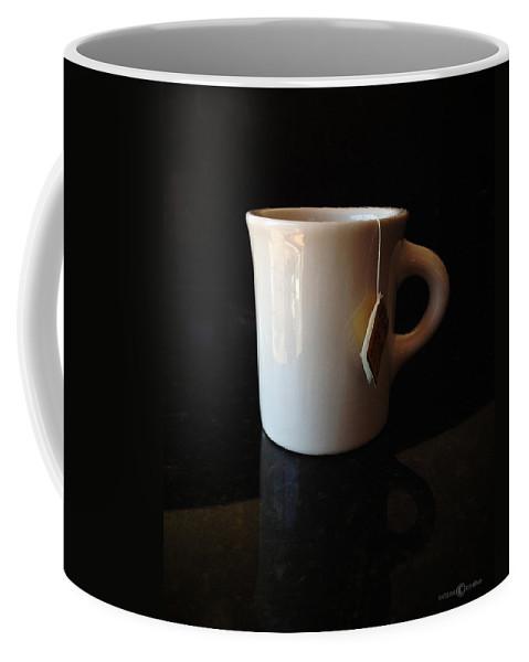 Tea Coffee Mug featuring the photograph Steeping Mug by Tim Nyberg