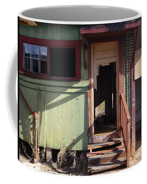 Doors Coffee Mug featuring the photograph Step Into My Parlor Said The Spider To The Fly by Mary Deal