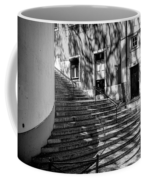 Lucinda Walter Coffee Mug featuring the photograph Steps by Lucinda Walter