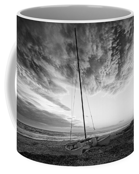 Beach Coffee Mug featuring the photograph Still Ashore by Phill Doherty