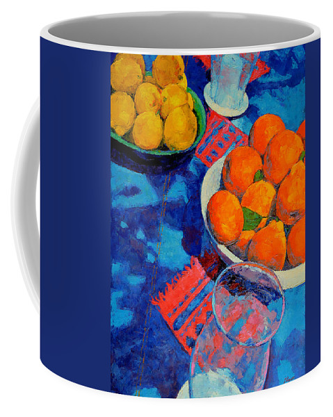 Still Life Coffee Mug featuring the painting Still Life 2 by Iliyan Bozhanov