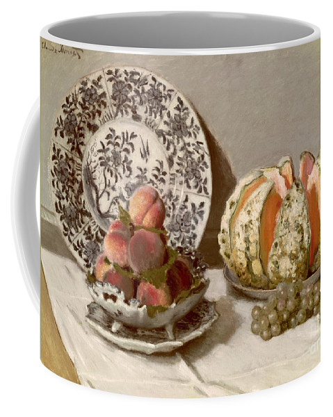 Nature Coffee Mug featuring the painting Still Life by Claude Monet