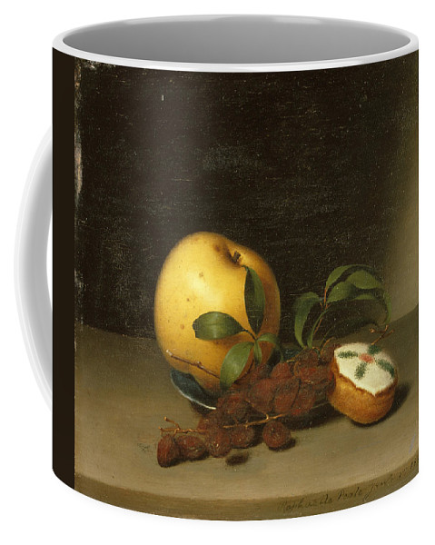 Raphaelle Peale Coffee Mug featuring the painting Still Life With Cake by Raphaelle Peale
