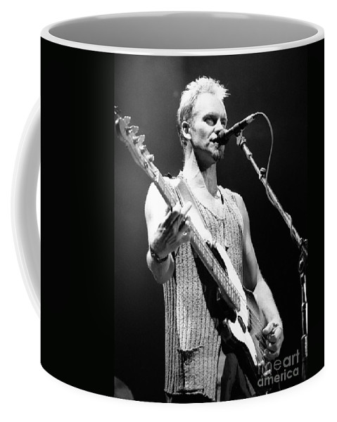Sting Coffee Mug featuring the photograph Sting-gp29 by Timothy Bischoff