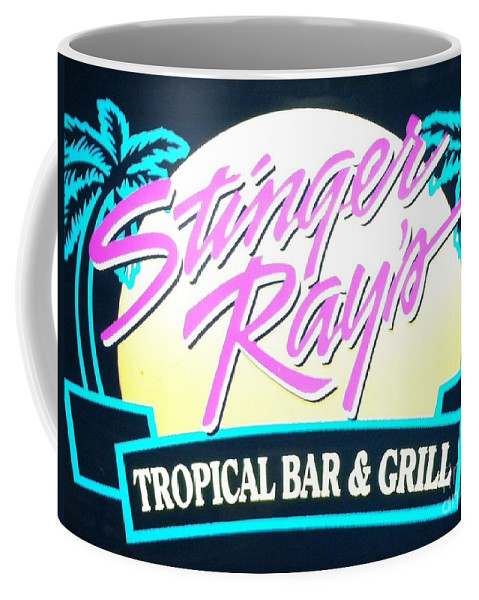 Stingers Rays Coffee Mug featuring the photograph Stinger Ray's by Michael Krek