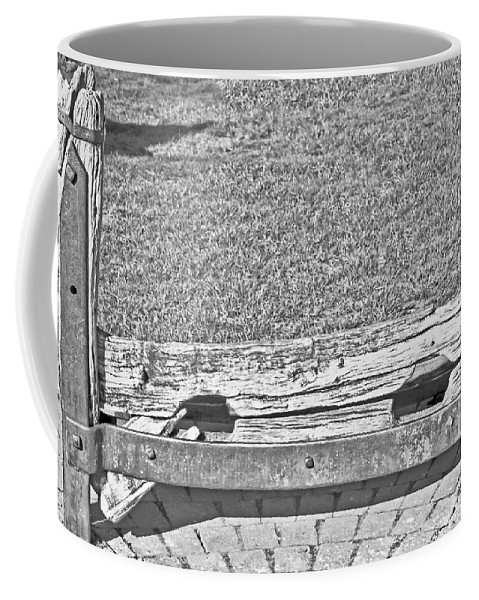 Travel Coffee Mug featuring the photograph Stocks Of Stow On The Wold by Elvis Vaughn