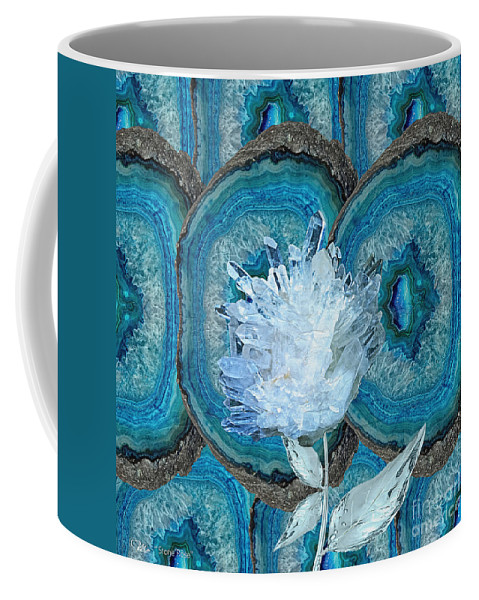Stone Rose Coffee Mug featuring the photograph Stone Rose by Mo T