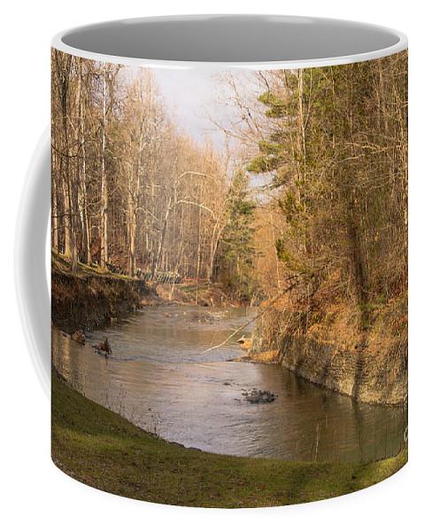 Stony Brook Coffee Mug featuring the photograph Stony Brook by William Norton