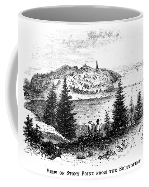 1852 Coffee Mug featuring the painting Stony Point, New York by Granger
