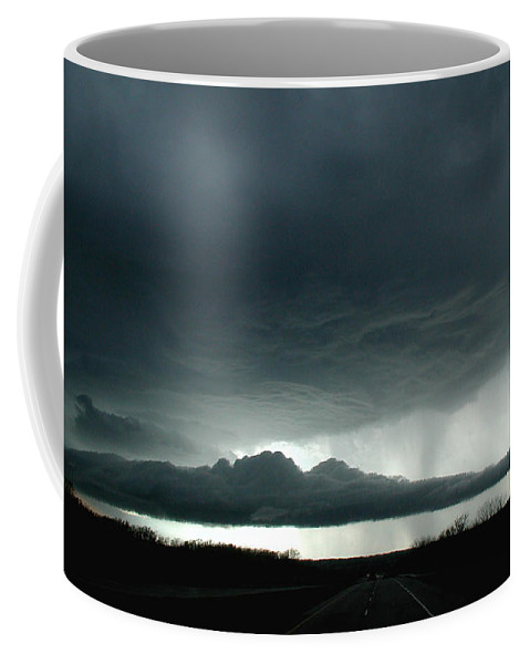 Admore Coffee Mug featuring the photograph Storm At Admore by D'Arcy Evans