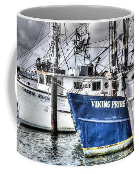 Hampton Bays Coffee Mug featuring the photograph Storm Clouds Over Shinnicock by Steve Gravano