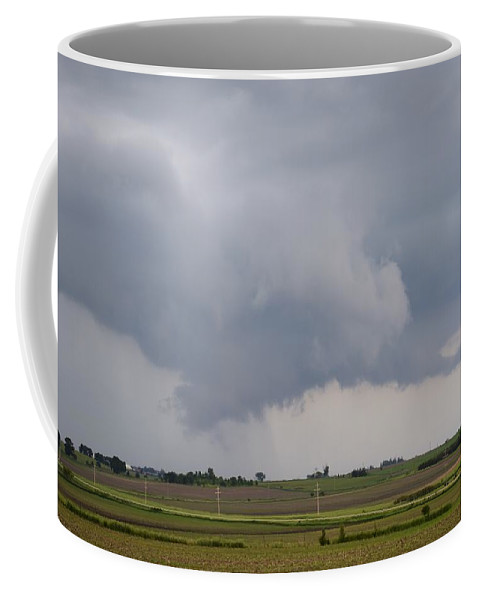 Storm Coffee Mug featuring the photograph Storm Prologue by Bonfire Photography