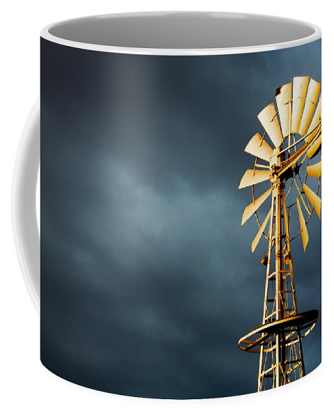 Stormy Coffee Mug featuring the photograph Stormy Skies by Todd Klassy