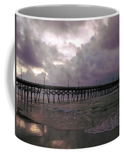Water Coffee Mug featuring the photograph Stormy Sky In Myrtle Beach by Wendy Gertz