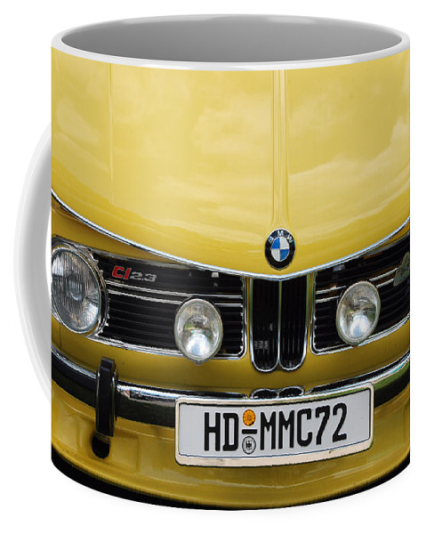 Automobiles Coffee Mug featuring the photograph Strange Bavarian by John Schneider