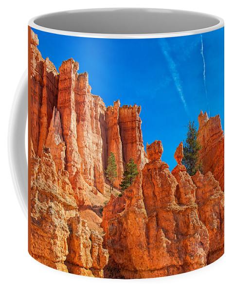 Landscape Coffee Mug featuring the photograph Strange Beauty by John M Bailey