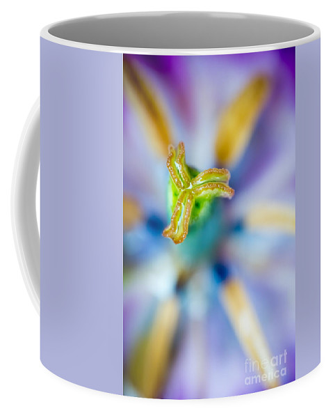 Blossom Coffee Mug featuring the photograph Strange Little World by Hannes Cmarits