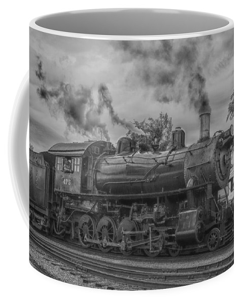 Guy Whiteley Photography Coffee Mug featuring the photograph Strasburg Rail 475 In Hdr by Guy Whiteley