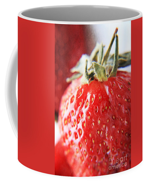 Strawberries Coffee Mug featuring the photograph Strawberries by Lali Kacharava