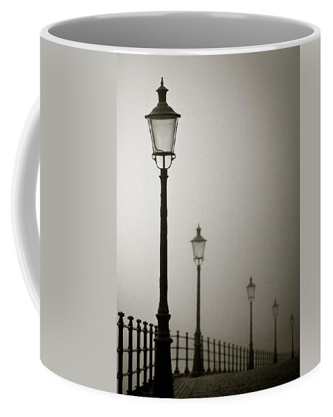 Maastricht Coffee Mug featuring the photograph Street Lamps by Dave Bowman
