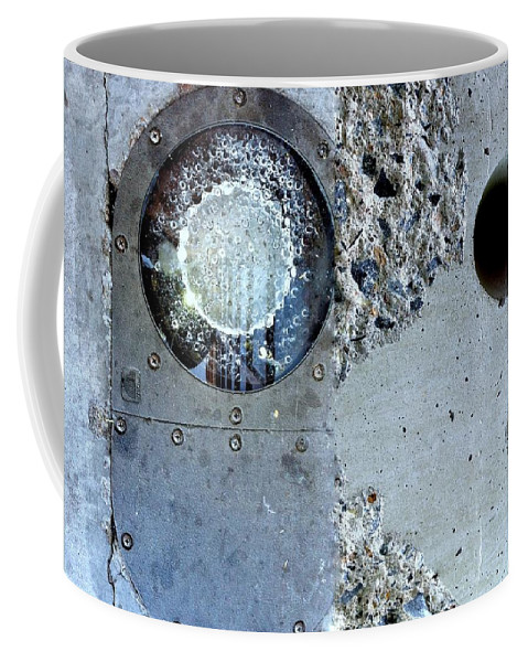 Abstract Coffee Mug featuring the photograph Street Sights 27 by Marlene Burns