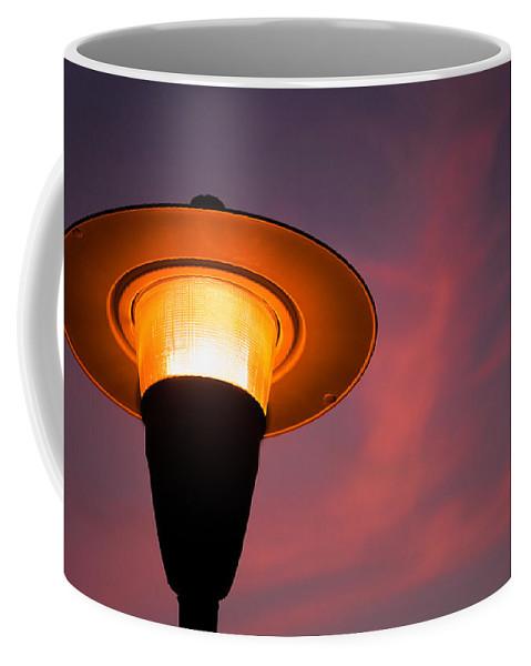 Waiting Room Art Coffee Mug featuring the photograph Streetlamp by David Smith
