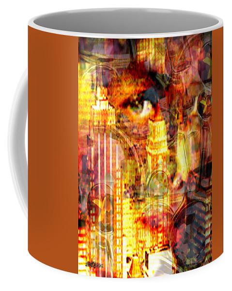 Big City Coffee Mug featuring the photograph Streetwalker by Seth Weaver