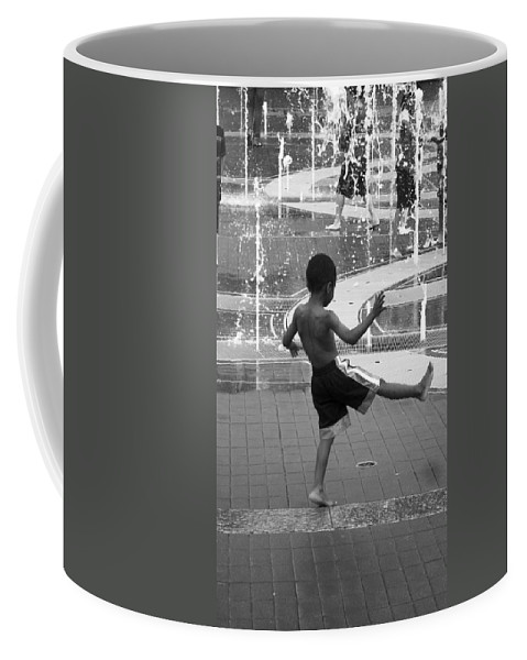 America Coffee Mug featuring the photograph Strike A Pose by Christopher Rees