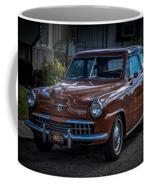 Studabacker Coffee Mug featuring the photograph Studabacker by Ronald Grogan