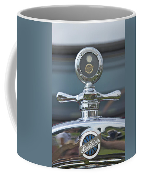 Glenmoor Coffee Mug featuring the photograph Studebaker by Jack R Perry