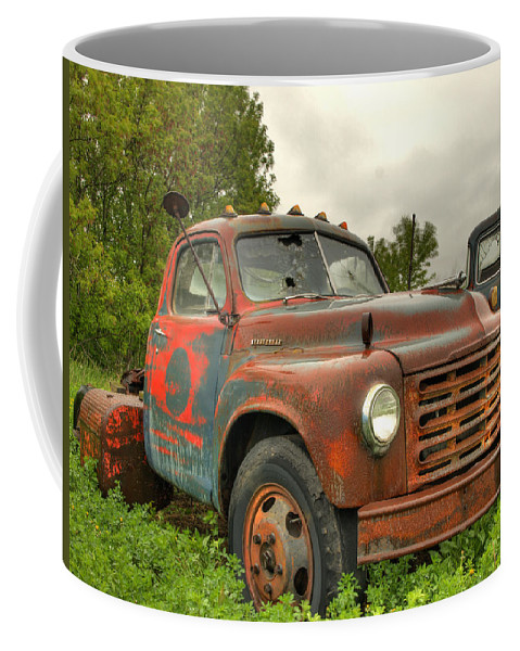 Studebaker Coffee Mug featuring the photograph Studebaker by Thomas Young