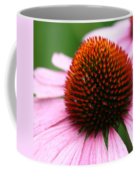 Stunning In Pink Coffee Mug featuring the photograph Stunning In Pink by Denyse Duhaime