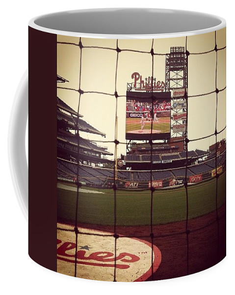 Phillies Coffee Mug featuring the photograph Such An Amazing Experience. I'm by Katie Cupcakes