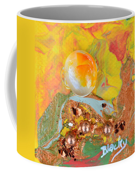 Modern Coffee Mug featuring the painting Summer Glow by Donna Blackhall