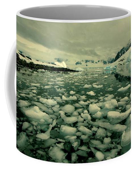 Icebergs Coffee Mug featuring the photograph Summer Ice by Amanda Stadther