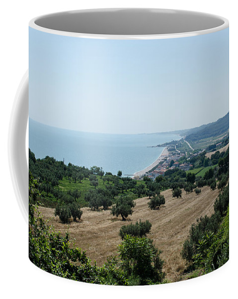 Landscape Coffee Mug featuring the photograph Summer In Italy by Andrea Mazzocchetti