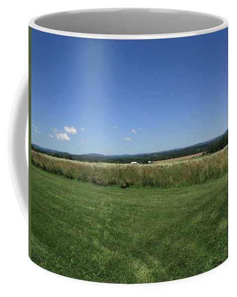 Agriculture Coffee Mug featuring the photograph Summer Landscape by Frank Romeo