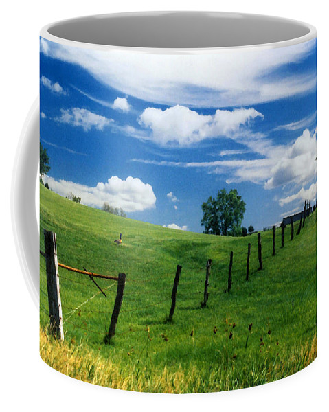 Summer Landscape Coffee Mug featuring the photograph Summer Landscape by Steve Karol