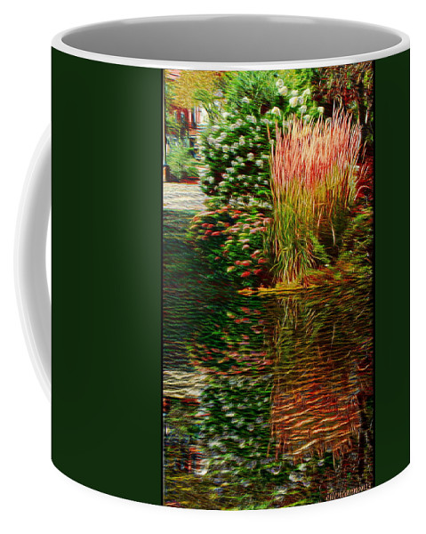 Nature Coffee Mug featuring the photograph Summer Reflections by Ellen Cannon