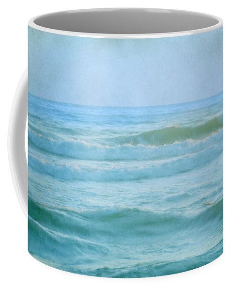 Landscape Coffee Mug featuring the photograph Summer Sea Vintage by Guido Montanes Castillo