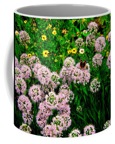 Flower Coffee Mug featuring the photograph Summer Song by Zafer Gurel