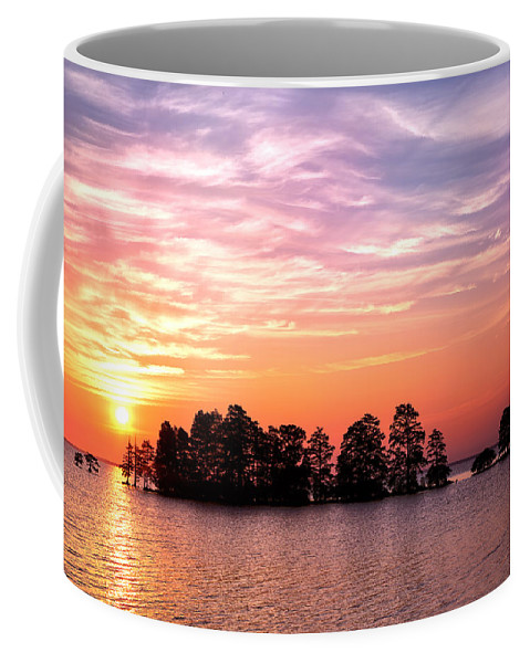 August Coffee Mug featuring the photograph Summer Sunrise by Cindy Archbell