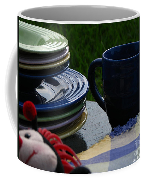 Art For The Wall Coffee Mug featuring the photograph Summer Table by Greg Patzer