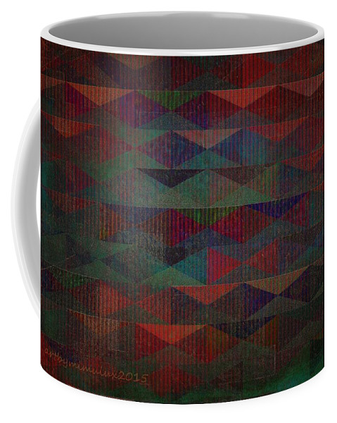 Summer Coffee Mug featuring the digital art Summernights by Mimulux patricia No